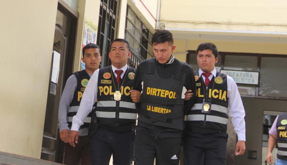 El jefe del PNP informó que en horas de la tarde 'Gringasho' será dispuesto al Ministerio Público para las investigaciones respectivas.(Alan Benites/Perú21)