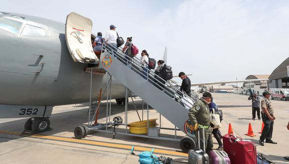 Vuelos humanitarios ascienden a 36 por semana, 18 de ida y 18 de vuelta, informó LAP. (Foto: Andina)