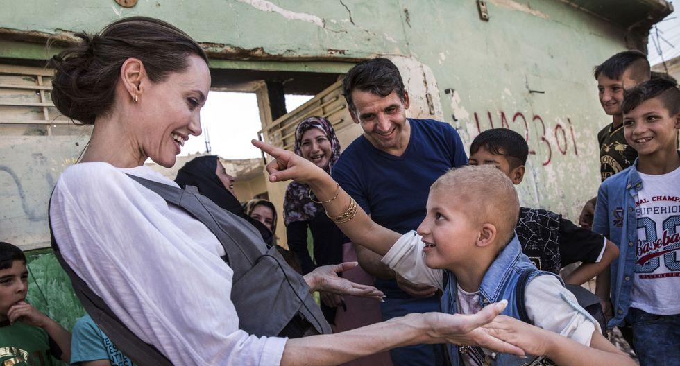 Angelina Jolie se encuentra en Perú para ver situación de los venezolanos que dejaron su país para buscar un futuro mejor. (Foto: AFP)