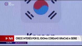 Aumenta el interés por el idioma coreano gracias a serie 'El juego del calamar'