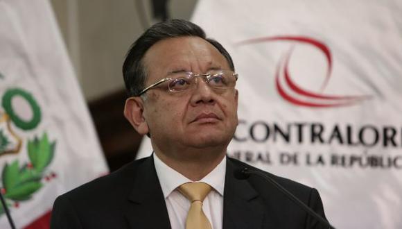 Edgar Alarcón: ¿El contralor fue nombrado gracias a los votos fujimoristas? (Anthony Niño de Guzmán/Perú21)