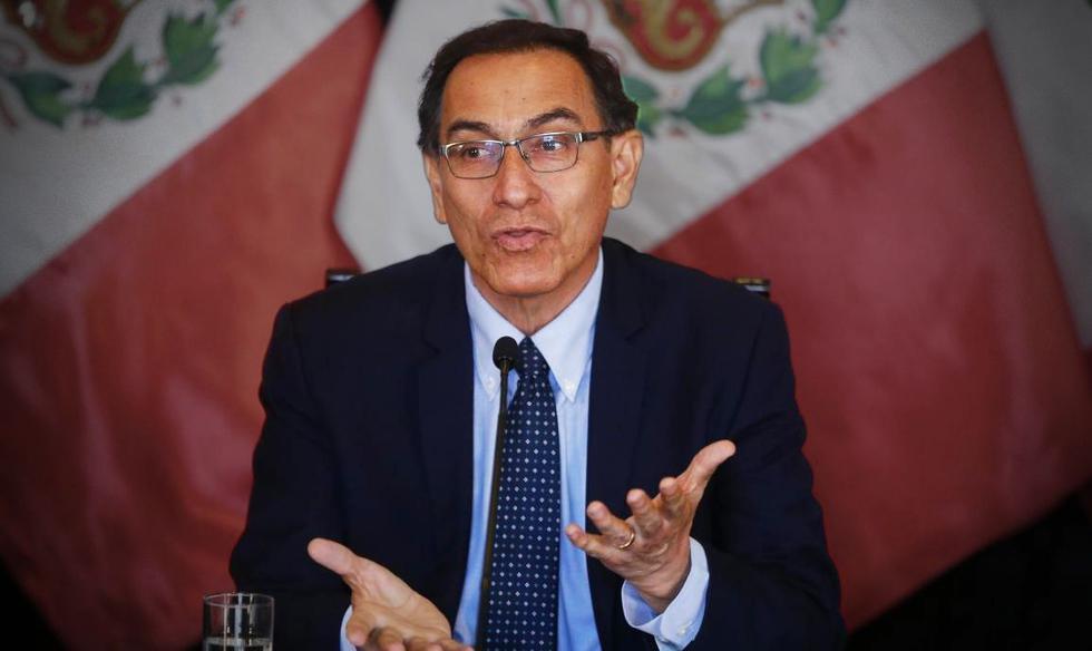 El jefe de Estado, Martín Vizcarra, se pronuncia tras cuestionamientos por la contratación de su empresa con el consorcio Conirsa en 2006 y 2008.