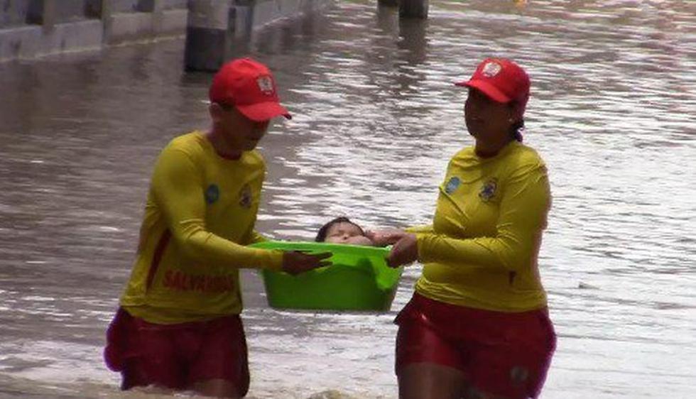 Las labores de rescate que han destacado por su arrojo y valentía. (Presidencia Perú)