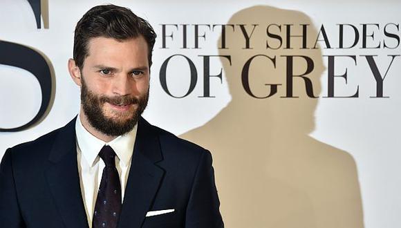 Jamie Dornan seguirá en 50 Sombras de Grey de confirmarse secuelas. (AFP)