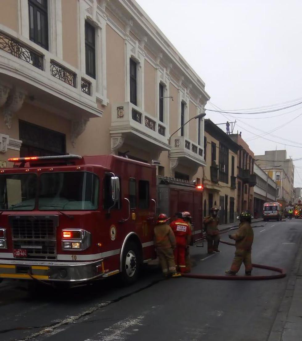 Emergencia se reportó alrededor de las 11:00 a.m. (Foto: Sitrapoj)