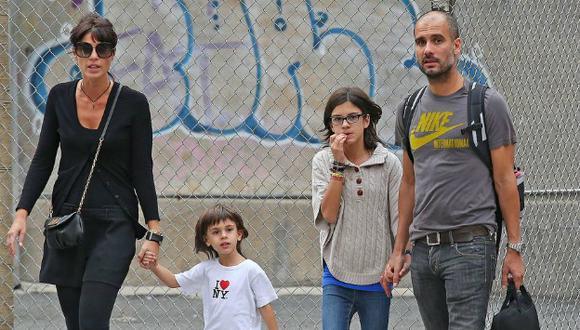 Cristina Serra, Valentina y María Guardiola no sufrieron daños durante el atentado. (FameFlynet Pictures)