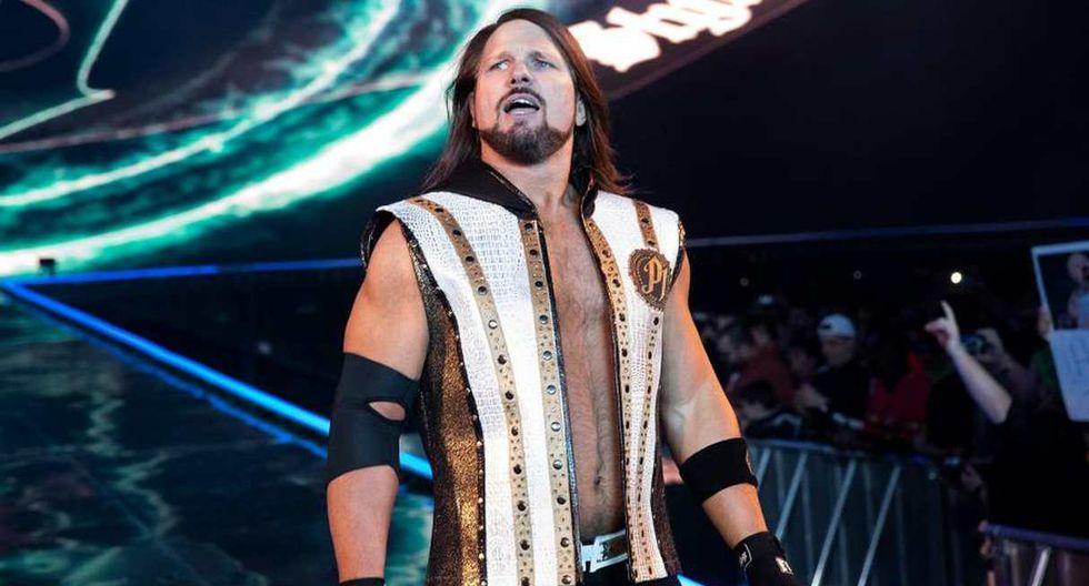 AJ Styles es confirmado para el evento de WWE en Lima. (Foto: WWE)