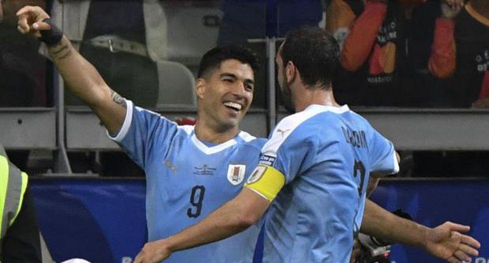 Uruguay vs. Japón: la escuadra 'Charrúa' desea asegurar, de una vez por todas, su pase a cuartos de final. (Foto: AFP)