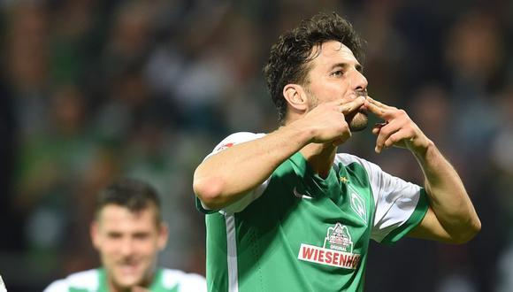 Claudio Pizarro tiene contrato hasta el final de temporada en Werder Bremen. (Foto: EFE)