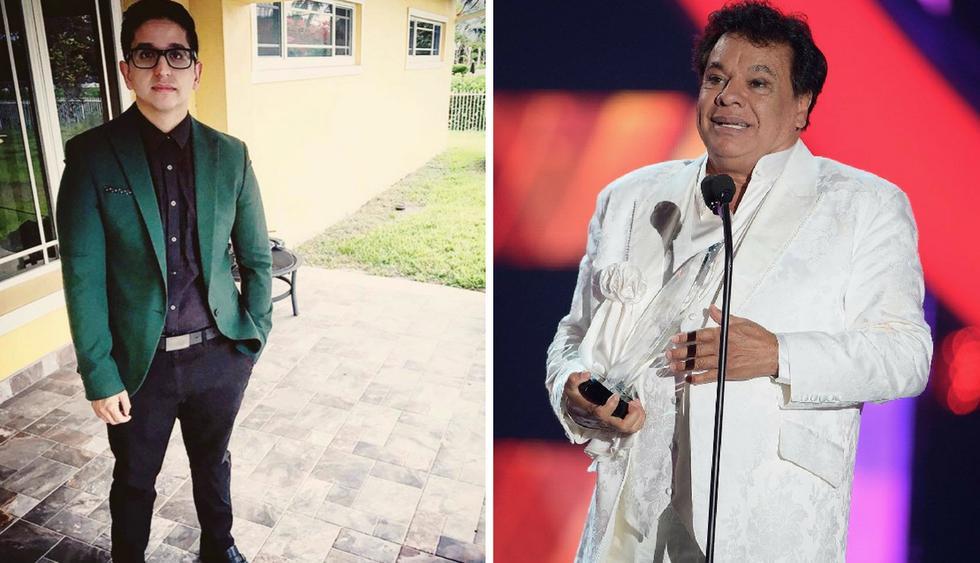 Jean Aguilera, hijo de Juan Gabriel, se lanza como cantante | Foto: AFP e Instagram