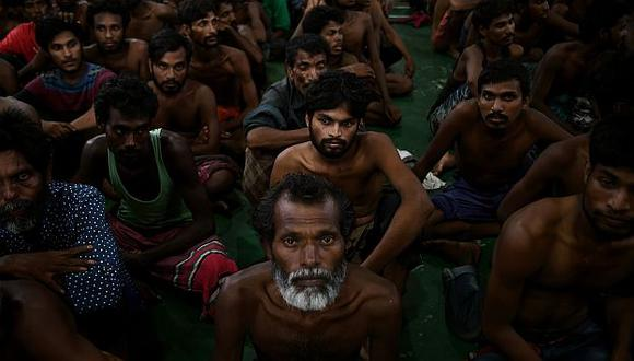 Malasia e Indonesia rescataron a 2,000 inmigrantes en sus costas. (AFP)