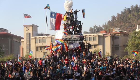Chile: un año de una crisis social que sacudió las bases de un país. (Foto: EFE)