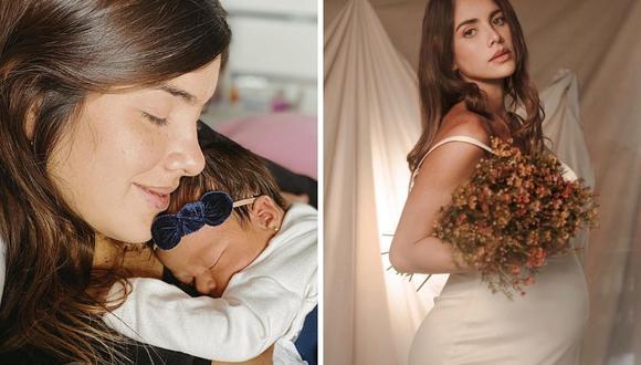 Korina Rivadeneira contó en redes sociales el confuso momento que vivió por su bebé. (Foto: Instagram / @rivadeneirak.)