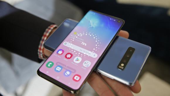 Cabe recordar que los Samsung Galaxy S10 estarán disponibles al público desde el próximo 8 de marzo y estarán a un precio al público desde los 749 dólares. (Foto: AP)