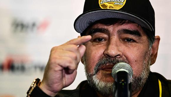 Diego Maradona cree que el 'Tata' Martino es el DT ideal para la selección de México. (Foto: AFP)