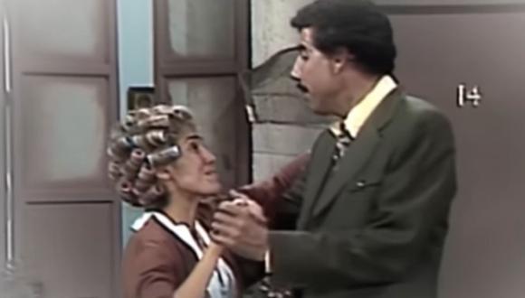 Aunque el Profesor Jirafales y Doña Florinda alguna vez tuvieron la oportunidad de darse un beso, siempre eran interrumpidos. (Foto: Televisa)