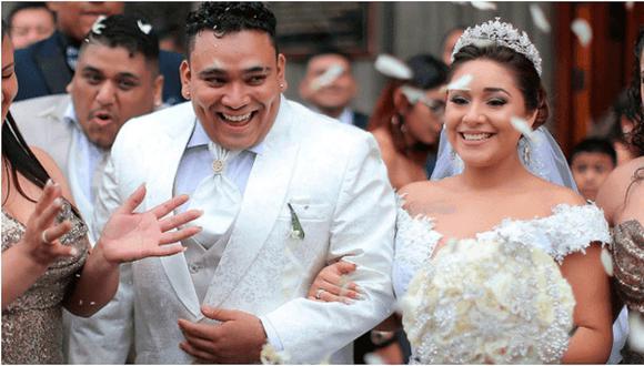 El 16 de diciembre de 2017 la ahora expareja contrajo matrimonio en la iglesia San José de Jesús María. La boda costó cerca de 100 mil dólares. (GEC)