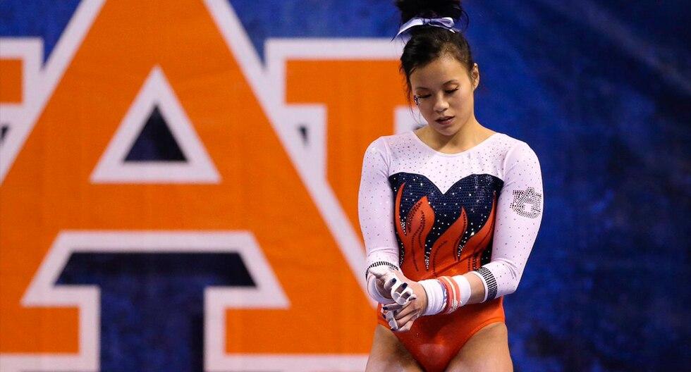 La gimnasta Samantha Cerio se rompió las dos piernas al caer durante competencia en EE.UU. El video es viral en YouTube. (Twitter / @sam_cerio)