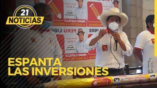 Plan de Castillo: Espanta las inversiones