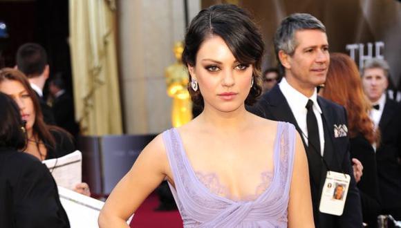 Mila Kunis habló sobre la experiencia de criar a su hija Wyatt. (AFP)