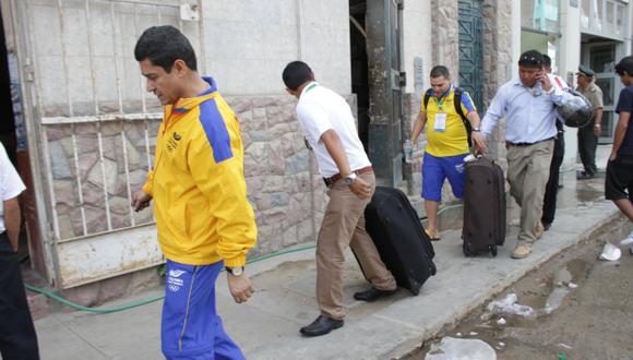 Evacuaron a colombianos. (Nadia Quinteros)