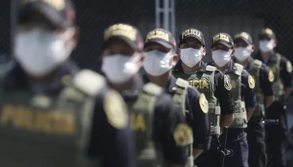 Arequipa: 173 policías venden al COVID-19 y retoman sus labores cotidianas. (foto referencial)