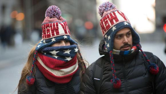 Cabe precisar que con estas previsiones meteorológicas, según informó CNN,  el 75% de la población estadounidense vivirá temperaturas bajo cero. (Foto: AP)