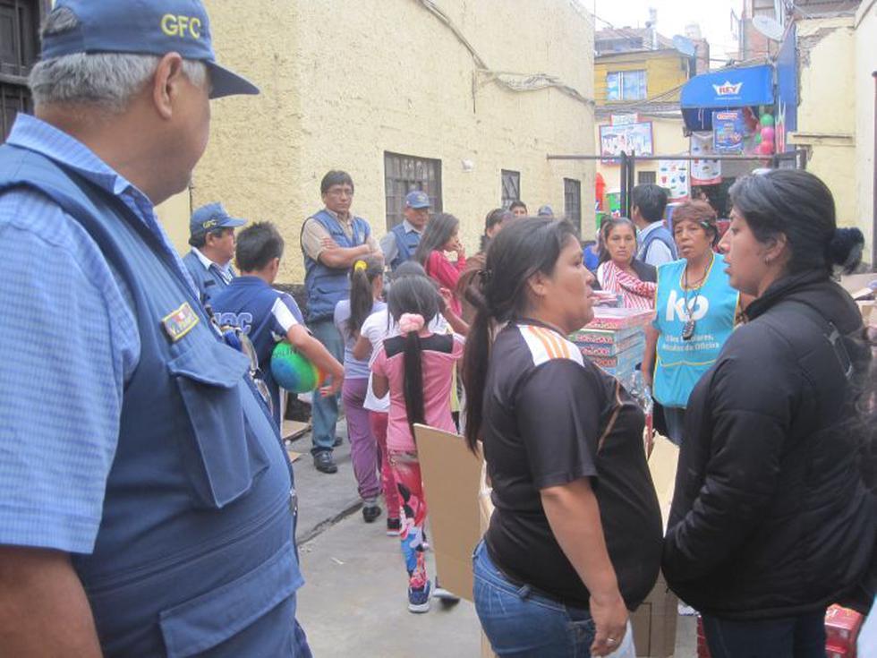 Municipalidad de Lima hizo operativo para detectar pirotécnicos. (César Takeuchi/Perú21)
