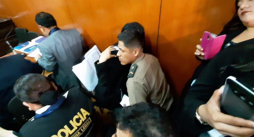 El Poder Judicial determinó que el suboficial Evert Cueva actuó de acuerdo al reglamento policial.
