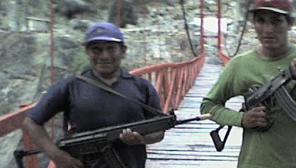 'Gabriel' aprovecha enmarañada selva del VRAE. (Imagen de TV)