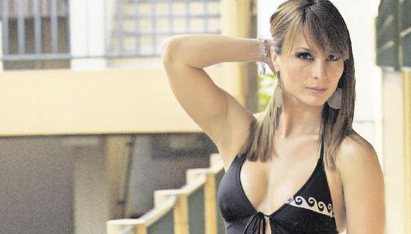 Olenka aseguró que su relación con el rockero terminó hace un mes. (USI)