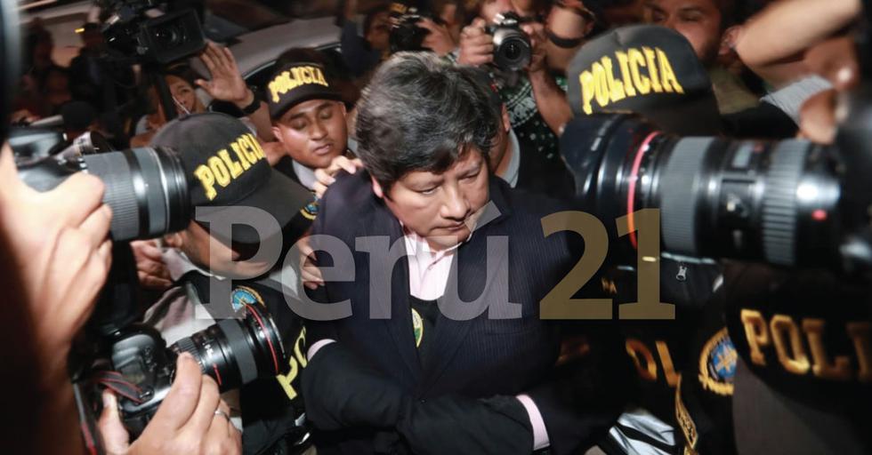 Trasladan a Edwin Oviedo a la sede del Poder Judicial (CésarCampos/GEC)
