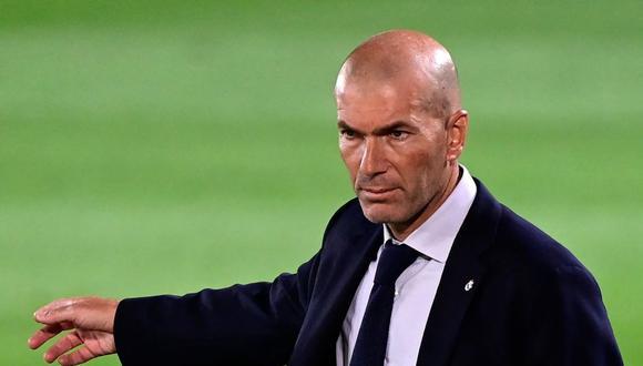 ZIdane cumple su segunda etapa en el Real Madrid. (Foto: AFP)
