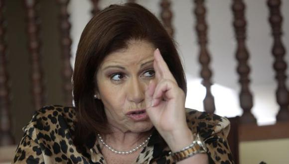 Lourdes Flores habló sobre la violencia en la campaña electoral. (Perú21)
