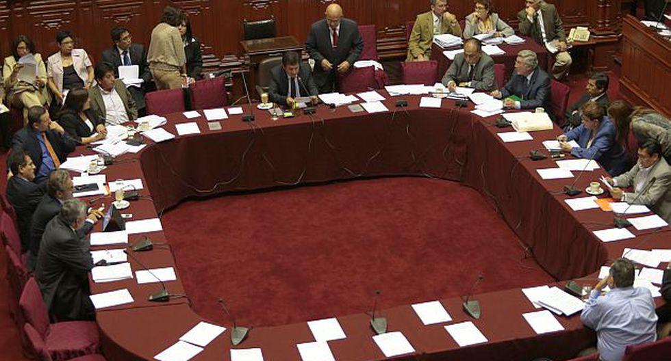 La sesión de la Comisión Permanente se suspendió hasta la próxima semana. (USI)