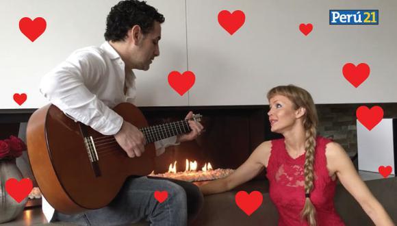 Escucha la canción que Juan Diego Flórez le dedica a su esposa en San Valentín. (Facebook de Juan Diego Flórez)