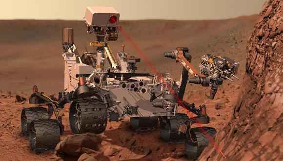 Ilustración de Curiosity sobre lo que haría en Marte. (Reuters)