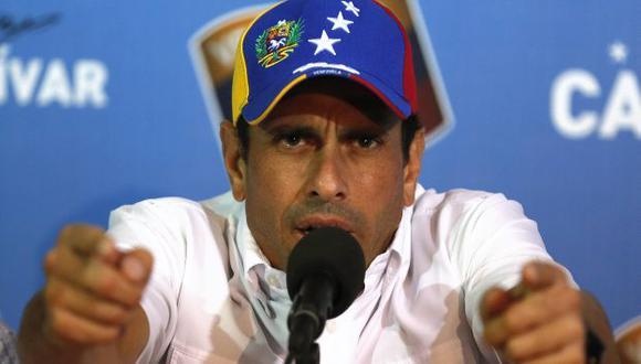¿BLINDADO? Capriles goza de inmunidad como gobernador. (Reuters)