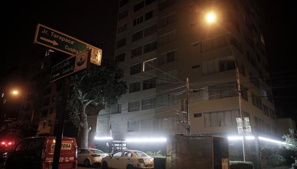 El hecho se produjo en la cuadra 9 de la avenida 28 de julio, en Magdalena. (Fotos :Joel Alonzo/@photo.gec)