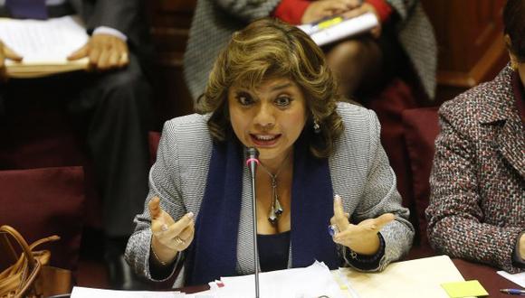 La fiscal de la Nación, Zoraida Ávalos, está citada para las 3 de la tarde. (Foto: GEC)