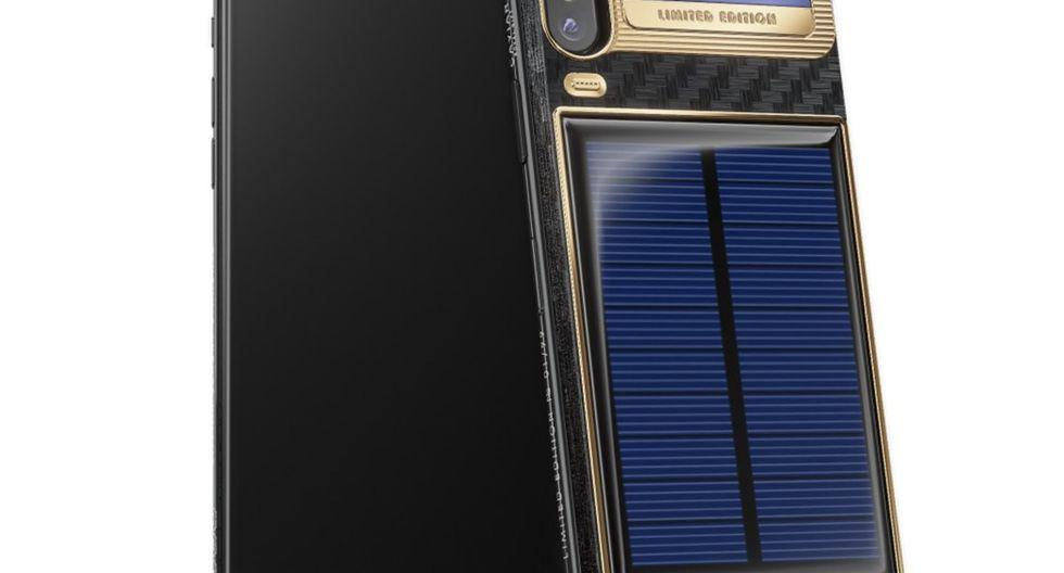 'iPhone X Tesla': El lujoso smartphone de recarga infinita de batería. (Xataka)