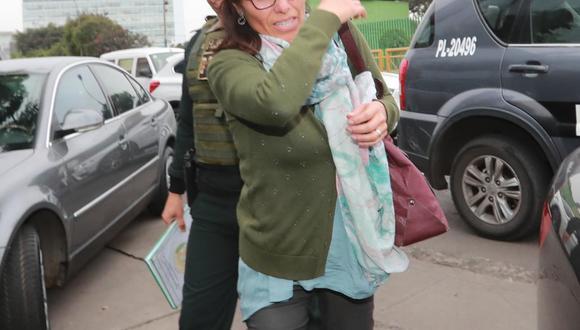 Profesora permanece detenida en la Unidad de Investigación de Accidentes de Tránsito (Lino Chipana).