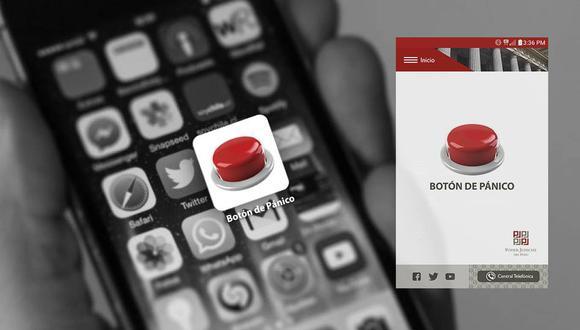 Poder Judicial implementa botón de pánico en celulares para auxiliar a mujeres en peligro. (PoderJudicial)