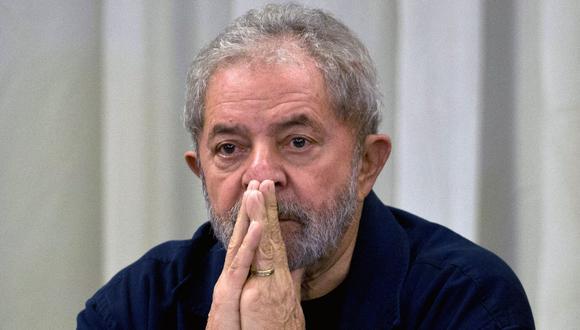 Lula da Silva acumula ocho causas en la justicia, incluidas las dos por las que fue condenado, todas ellas vinculadas con diferentes asuntos de corrupción. (Foto: AFP)