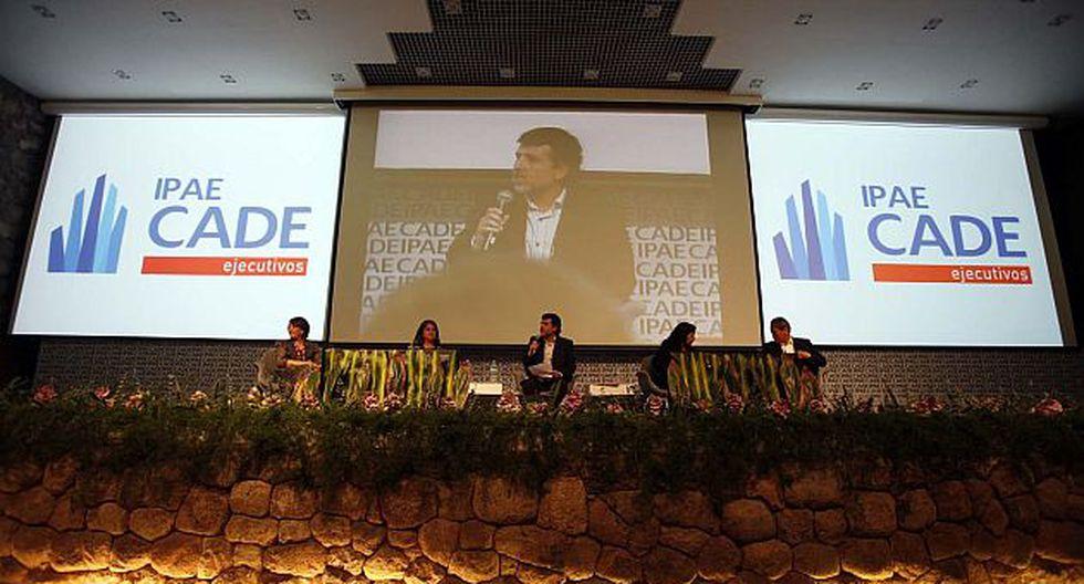 Evento de apertura del CADE 2011, realizado ayer. (Andina)