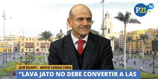 """José Escaffi: """"Lava Jato no debe convertir a las concesiones en mala palabra"""""""