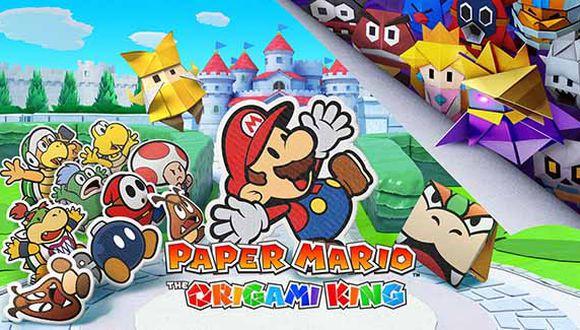 Gracias a su estilo de juego y aspecto visual, podremos vivir grandes aventuras con 'Paper Mario: The Origami King'.