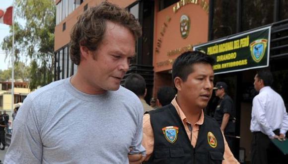 Collins y su amigo afrontarán desde la cárcel su proceso por tráfico de drogas. (AFP/Archivo)