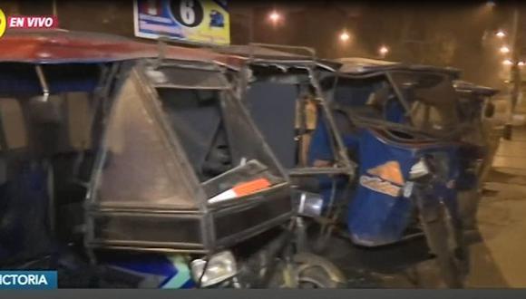 Subgerenta de la empresa de transportes de servicio San Cosme denunció ataque por parte de un grupo de extorsionadores. (Captura: RPP Noticias)