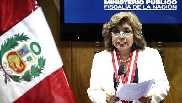 Zoraida Ávalos ratificó su respaldo hacia los fiscales de casos emblemáticos de corrupción y criminalidad organizada. (GEC)